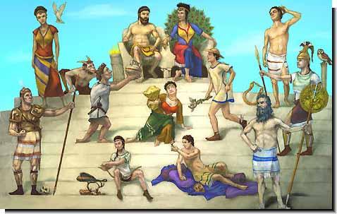 Olimpo dievai